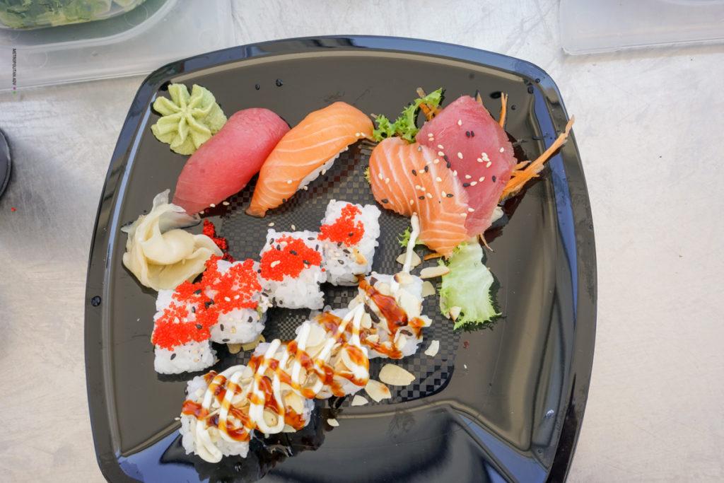 Pranzo a Otranto: la novità sushi in terrazza al Balnearea